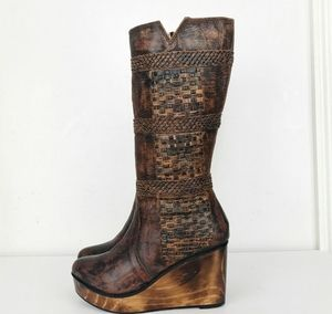 Bed Stu Leather Tall Boots